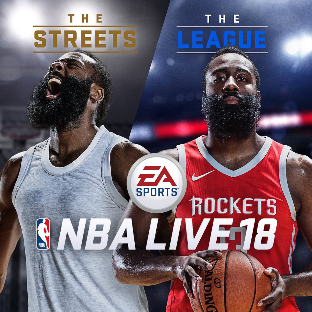 NBA Live 18 Cover