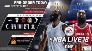 Pre-Order Bonuses for NBA Live 18: The One Edition | NLSC
