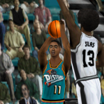 Isiah Thomas in the Legends Roster for NBA Live 2000