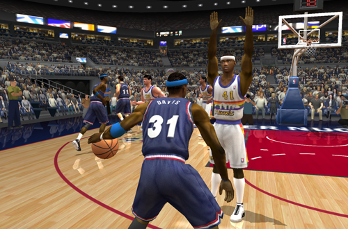 Freestyle Control Defense in NBA Live 2003