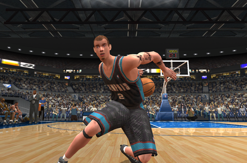 Freestyle Control Dribbling in NBA Live 2003
