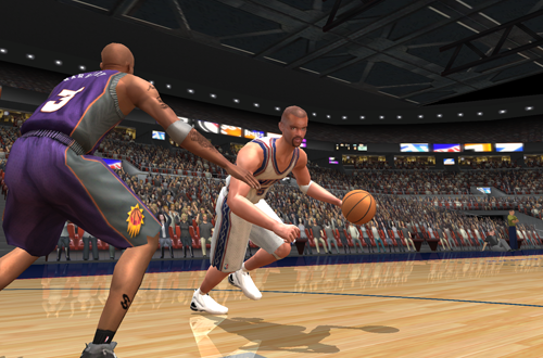 Freestyle Control made a PC gamepad necessary in NBA Live 2003