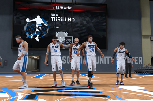 NLSC THRILLHO in NBA 2K17's 2K Pro-Am