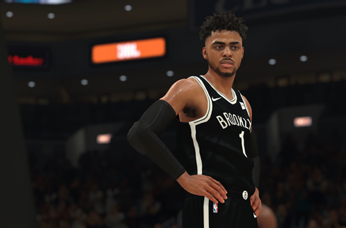 D'Angelo Russell in NBA 2K18