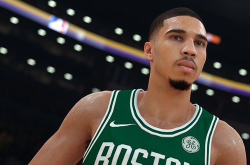 Jayson Tatum in NBA 2K18