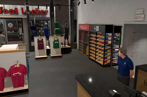 NBA Store in NBA 2K18's MyCAREER