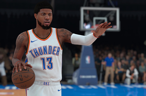 Paul George in NBA 2K18