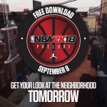 Promo for The Prelude to NBA 2K18