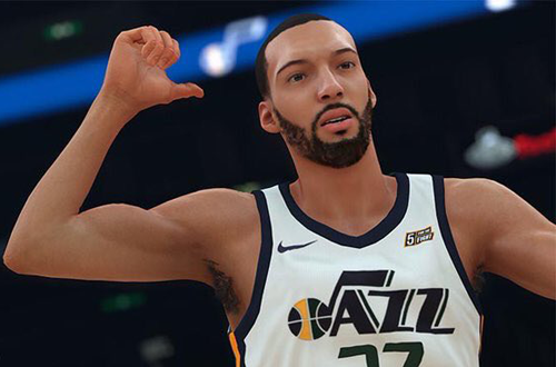 Potential franchise player Rudy Gobert in NBA 2K18
