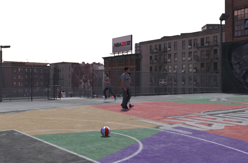 The Playground in NBA 2K18