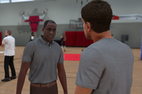 Training Camp Tryout in NBA 2K18 The Prelude