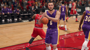NBA Live 18: Andrew Bogut on the Los Angeles Lakers
