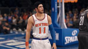 NBA Live 18: Enes Kanter on the New York Knicks