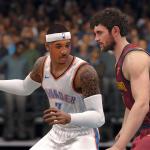 NBA Live 18: Carmelo Anthony on the Oklahoma City Thunder