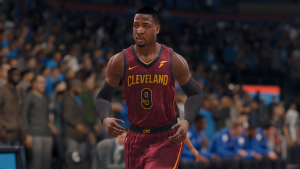NBA Live 18: Dwyane Wade on the Cleveland Cavaliers