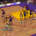 Kobe Bryant in the Complete Update Patch for NBA Live 96