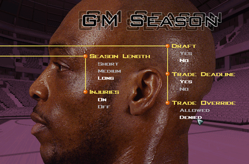 Season Options in GM Mode