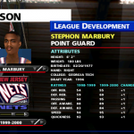 League Development in NBA Live 99