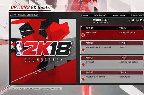 2K Beats in NBA 2K18