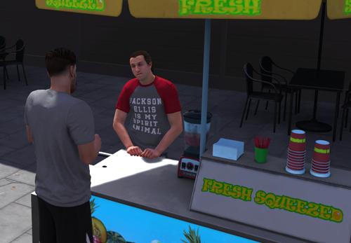 Jackson Ellis T-Shirt in MyCAREER (NBA 2K18)
