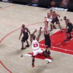 NBA 2K18: Michael Jordan Fadeaway