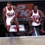 NBA 2K18: Michael Jordan & Dennis Rodman