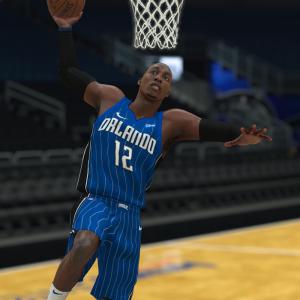 NBA Live 10 Cover in NBA 2K18