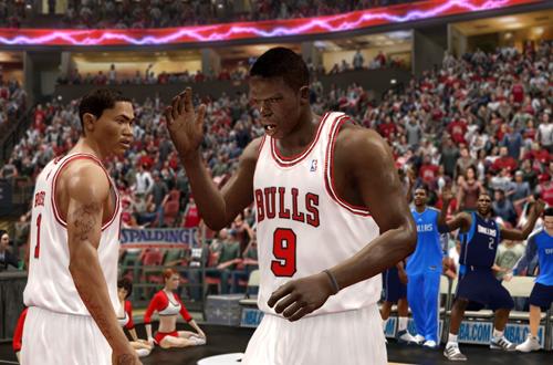 Derrick Rose & Luol Deng (NBA Live 10)