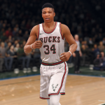 Classic Bucks Uniform in NBA Live 18