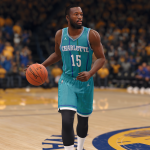 Classic Hornets Uniform in NBA Live 18