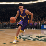 Classic Lakers Uniform in NBA Live 18