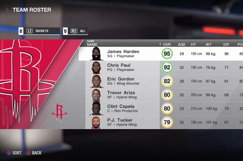No Roster Editing in NBA Live 18