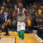 Classic Warriors Uniform in NBA Live 18
