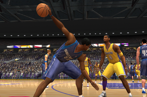 Michael Redd in Dallas (NBA Live 2003)