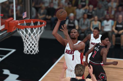 Chris Bosh in NBA 2K18