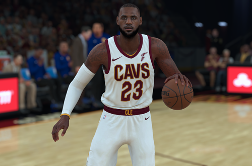 LeBron James attracts fanboys and haters (NBA 2K18)