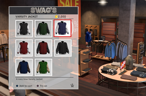 Jackets in Swags (NBA 2K18)
