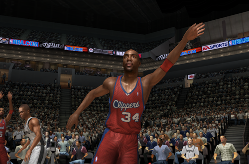 Vin Baker in NBA Live 06