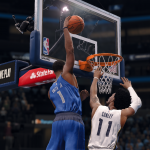 Dennis Smith Jr. dunks the basketball (NBA Live 18)