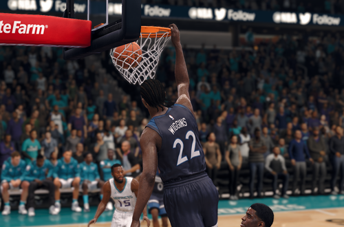 Andrew Wiggins Dunk (NBA Live 18)