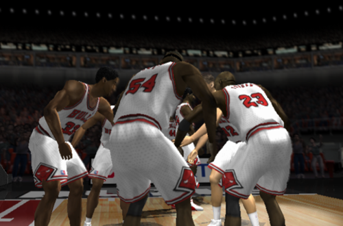 Jordan Era Bulls Alumni in NBA Live 2002