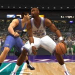 Karl Malone Posts Up (NBA Live 2003)