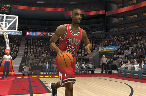 Jay Williams in NBA Live 2004