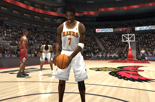 Terrell Brandon in NBA Live 2004