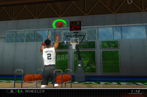 Free Throw Drill in The Life (NBA 08)
