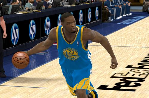 Al Thornton in NBA 2K11
