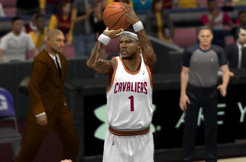 Daniel Gibson in NBA 2K13