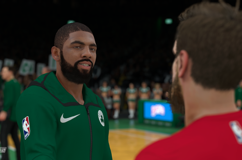 A Chat with Kyrie Irving in NBA 2K18
