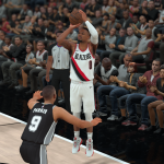 NBA 2K18: Damian Lillard vs. Tony Parker