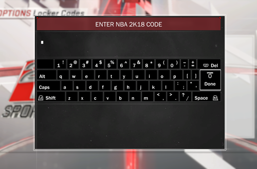 Locker Codes, one of the botched features of NBA 2K
